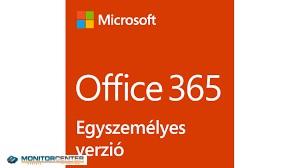 OFFICE 365 (Egyszemélyes verzió)