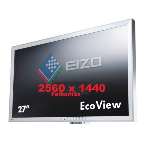 """Eizo EV2736W 27""""-os használt TFT monitor IPS LED 2 K-s (2560 x 1440)"""